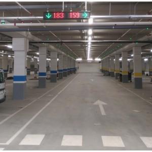 Σύστημα Καταμέτρησης και Καθοδήγησης Οχημάτων για Μεγάλα Πάρκινγκ Σύστημα Καθοδήγησης και Καταμέτρησης Οχημάτων