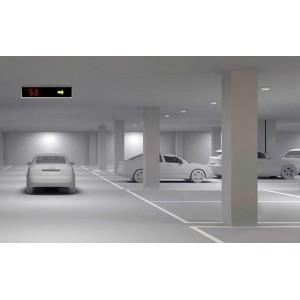 Σύστημα Καταμέτρησης και Καθοδήγησης Οχημάτων για Μικρά Πάρκινγκ Σύστημα Καθοδήγησης και Καταμέτρησης Οχημάτων
