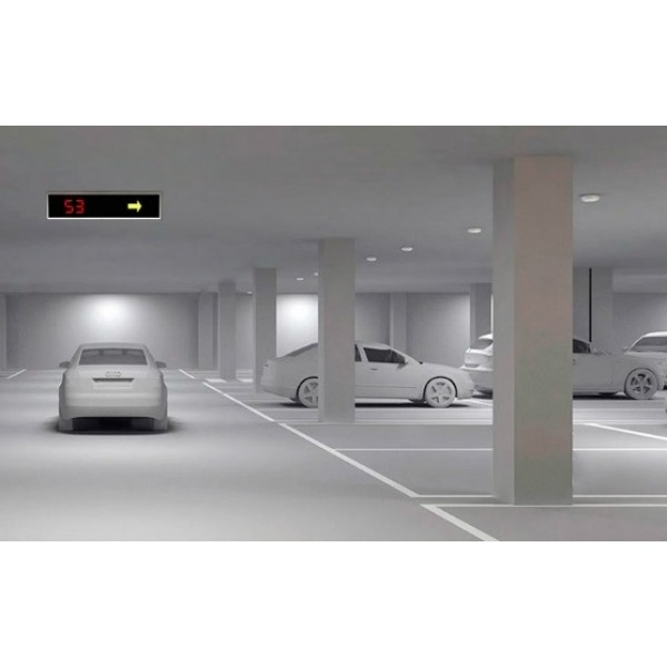 Σύστημα Καταμέτρησης και Καθοδήγησης Οχημάτων για Μικρά Πάρκινγκ